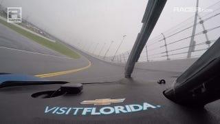 Illustration for article titled RACER Video: Visit Florida Racing Corvette DP In-Car at Daytona