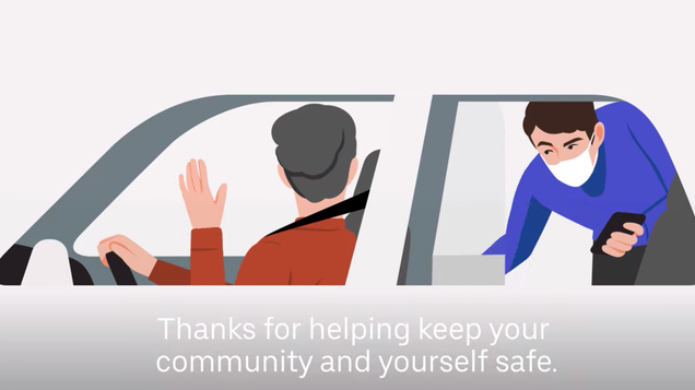 Uber Will Let Drivers and Riders Snitch on Each Other for Not Wearing Masks