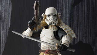 Illustration for article titled Bandai's Samurai Stormtrooper Looks Absolutely Amazing