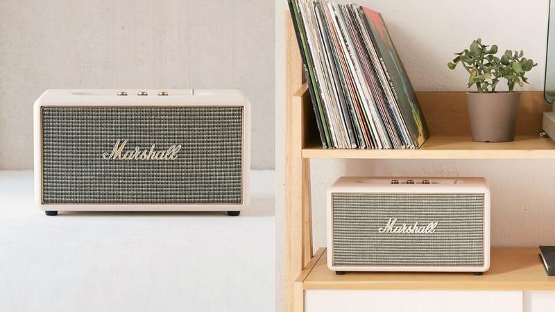 Marshall Stanmore Wireless Speaker | $275 | Urban OutfittersRefurb Marshall Stanmore Speaker | $170 | Amazon
