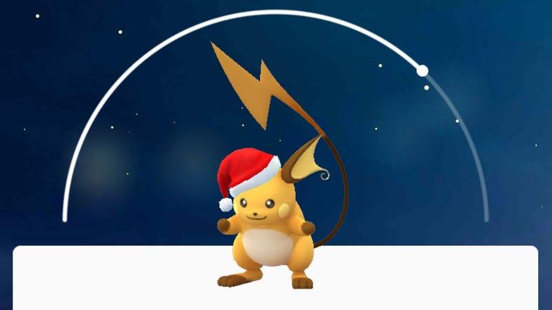 Cómo atrapar a las nuevas crías de Pokémon Go y conseguir un Raichu con gorro navideño