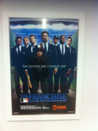 Illustration for article titled The Marlins Should Probably Take Down This Poster Of Their Canceled Reality Show And High-Priced Free Agents