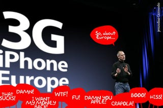 "Illustration for article titled ""Eurosnobs to Get iPhone, One Day"", Sources Declare"