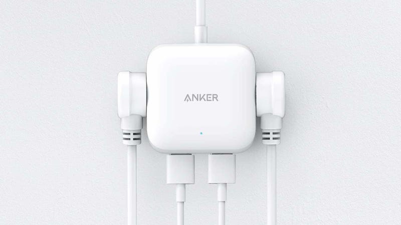 Anker's Tiny New $20 Power Strip Gives You Extra Outlets Anywhere