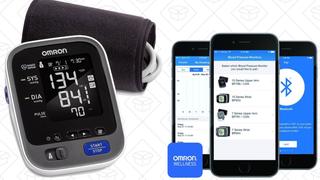 Monitor de presión sanguínea Omron 10 Series | $55 | Amazon | Usa el cupón de $10