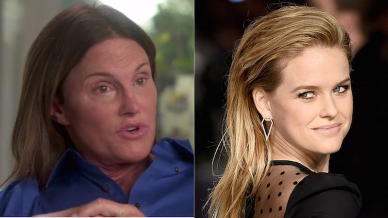 Illustration for article titled Alice Eve Is Sorry She Said Bruce Jenner Is 'Playing at Being a Woman'