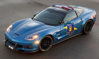 Illustration for article titled 2009 Corvette ZR1 Police Package: Bob Lutz Is A Small Child