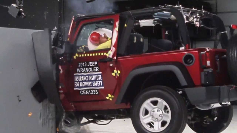 Inspired By This Post Made By HammerheadFistpunch Of A Jeep Wrangleru0027s  Crash Test Video, I Decided To Revisit The Crash Test Ratings For My Jeep  Wrangler.