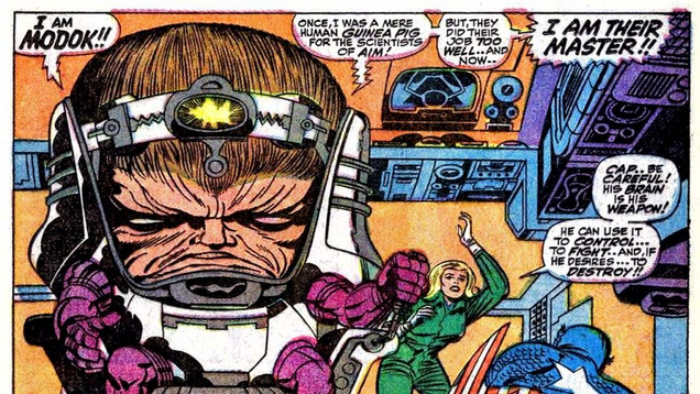 Marvel s Cancelled New Warriors Series Would Have Featured M.O.D.O.K., of All People
