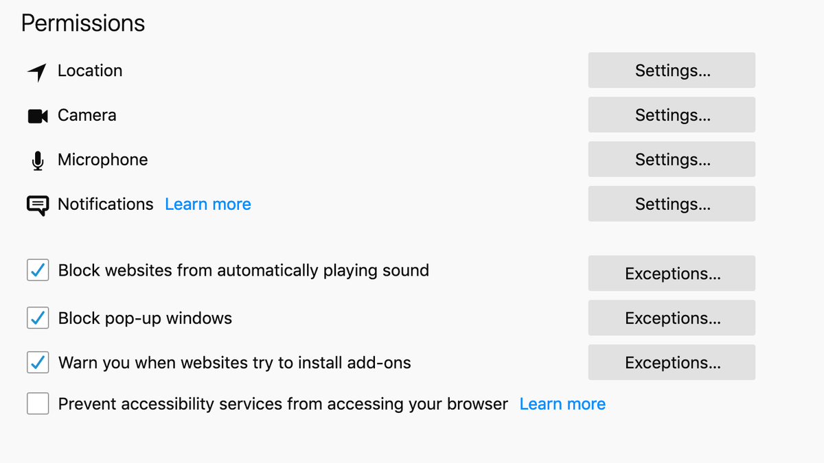 firefox plugins disable autoplay videos
