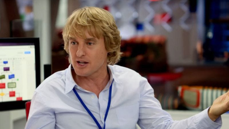 Owen Wilson is producing a show about '80s porn