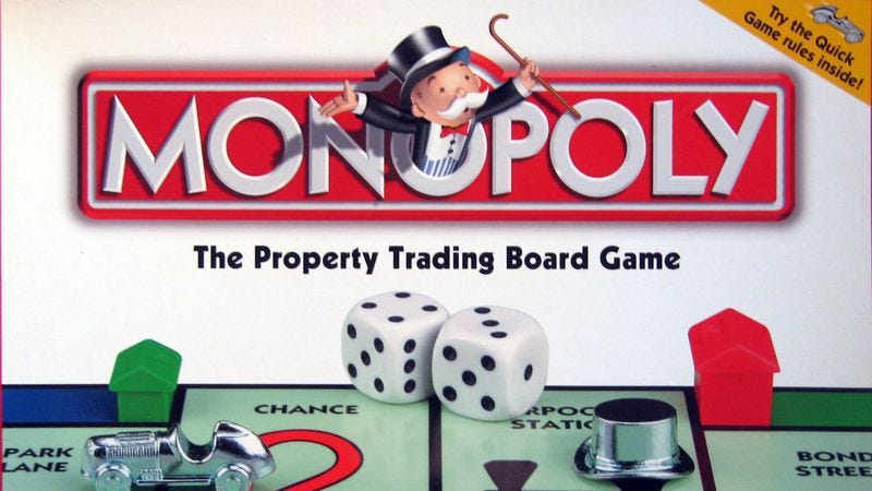 Illustration for article titled Read This: Monopoly was invented by an anti-capitalist woman