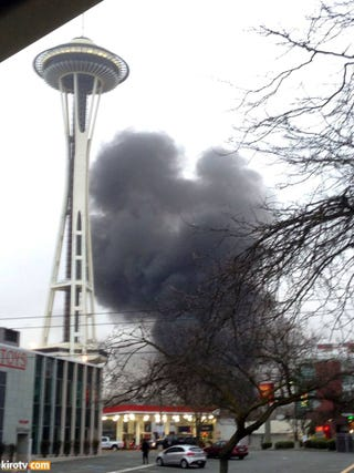 Illustration for article titled KOMO 4 Helicopter just crashed in Seattle