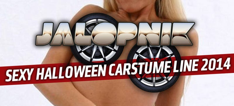 Illustration for article titled Check Out The Jalopnik Line Of Super-Sexy Halloween Carstumes!