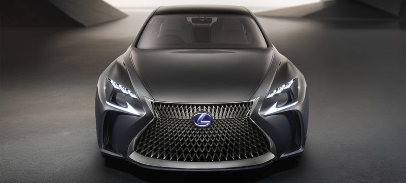 Illustration for article titled Gas Is For Poors: The Lexus LF-FC Concept Is A Hydrogen Luxury Sedan