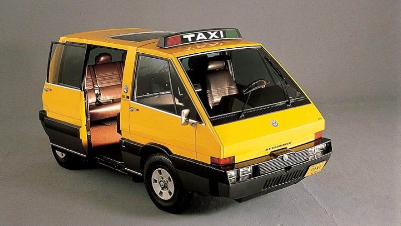 Illustration for article titled The 1976 Alfa Romeo New York Taxi Was The Real Taxi Of Tomorrow