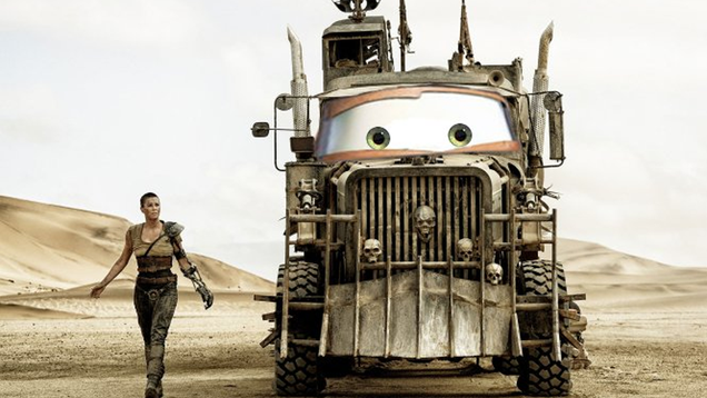 the vehicles of mad max fury road with the eyes of pixar s cars