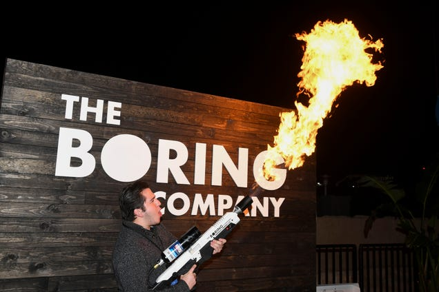Elon Musk s  Not A Flamethrower  Was a Indeed Flamethrower, Say Cops