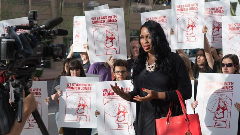 """Illustration for article titled Activist Monica Jones Found Guilty of """"Manifesting Prostitution"""""""