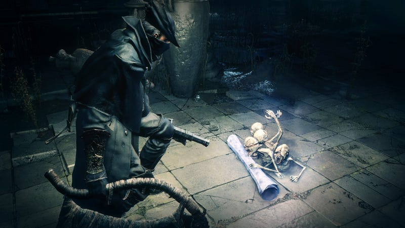 Illustration for article titled Sony Games Boss' Bonus Bloodborne Strategy: E-mailing The Devs For Help
