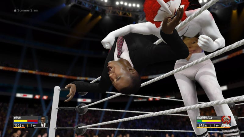 The Most Bizarre Fan Made Pro Wrestlers From Wwe 2k16
