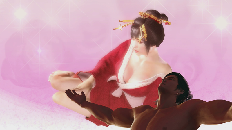 Illustration for article titled So... This is How You Have Sex in Yakuza: Ishin