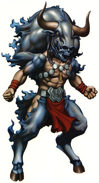 """Illustration for article titled And the Award for Coolest """"Minotaur"""" Design Goes To..."""