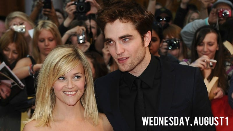 Illustration for article titled Robert Pattinson Is Drying His Breakup Tears on Reese Witherspoon's Goats