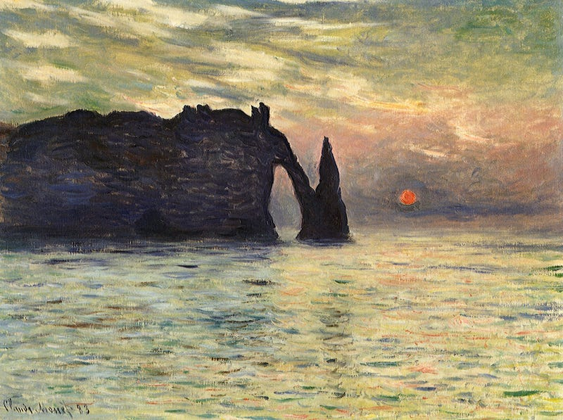 Illustration for article titled Astronomers know when Monet made this painting -- to the very minute