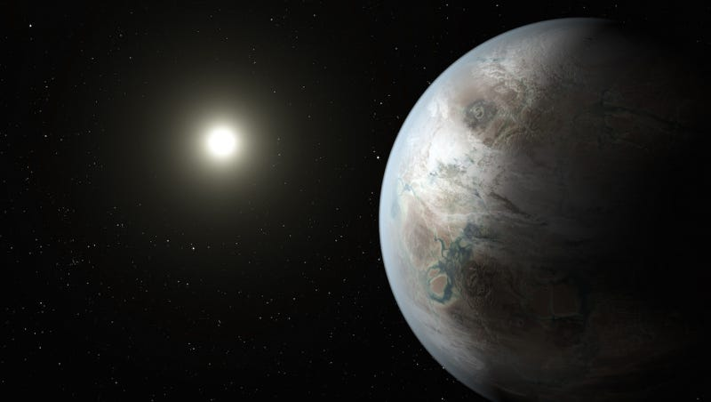 Illustration for article titled Kepler descubre el planeta en zona habitable más prometedor hasta ahora