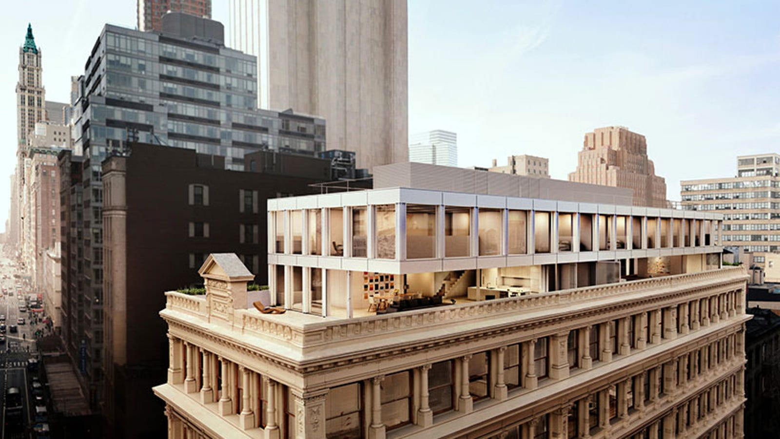 Check Out The Condos Being Built On The Roof Of A Historic