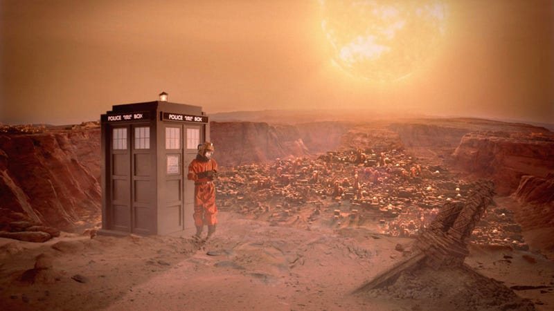 Illustration for article titled It's always a love story on Doctor Who these days