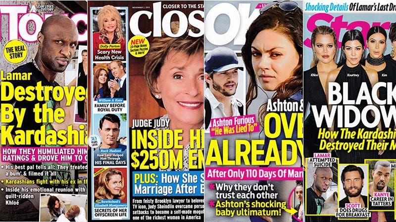 Illustration for article titled This Week In Tabloids: Closer Is the Most Important Magazine on Newsstands Right Now
