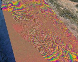 Illustration for article titled La impresionante magnitud del terremoto de Chile, visto desde el espacio