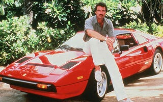 Illustration for article titled TR7 Photoshopped with Tom Selleck