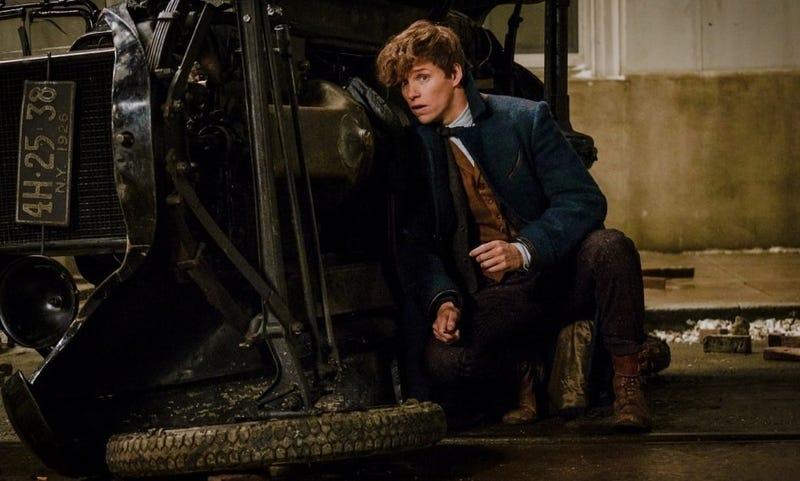 Eddie Redmayne protagoniza Fantastic Beasts and Where to Find Them. Todas las imágenes: Warner Bros.