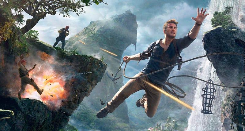 Illustration for article titled Los creadores de Uncharted explican por qué Nathan Drake es capaz de sobrevivir a tantos tiros