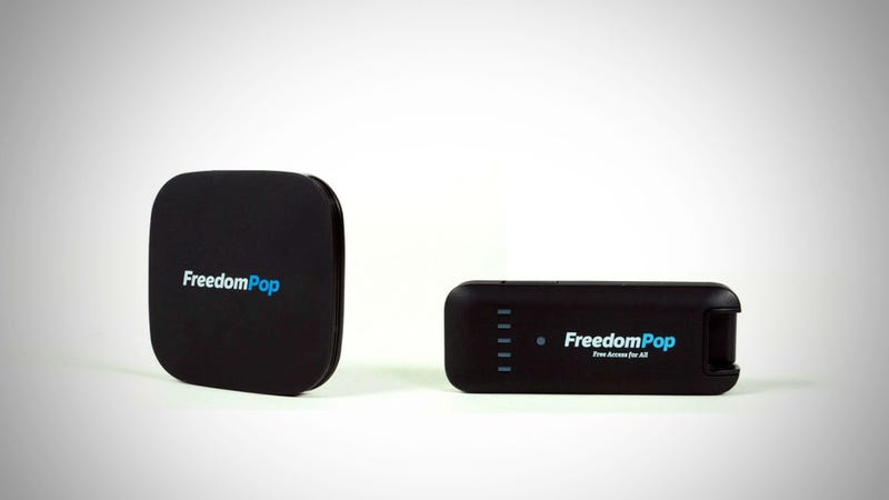Illustration for article titled FreedomPop Provides Free Wireless Internet Access You Can Take (Almost) Anywhere