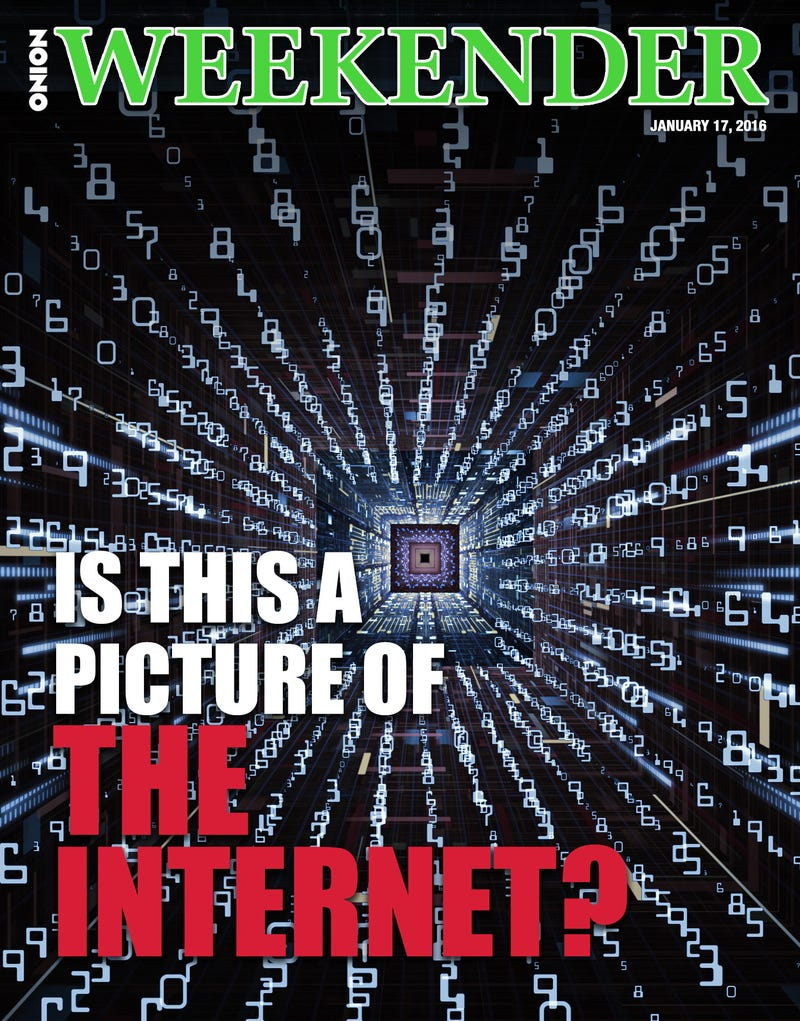 Illustration for article titled Is This A Picture Of The Internet?