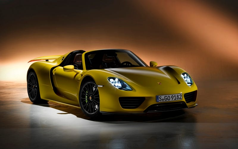 Illustration for article titled Porsche 918 Spyder Prices After Recall