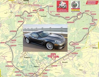 Illustration for article titled The Fastest Laps Of The Nurburgring: How The ZR1 Stacks Up