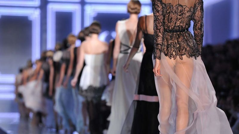 Illustration for article titled The Dior Show Closed With Karlie Kloss's Naked Ass
