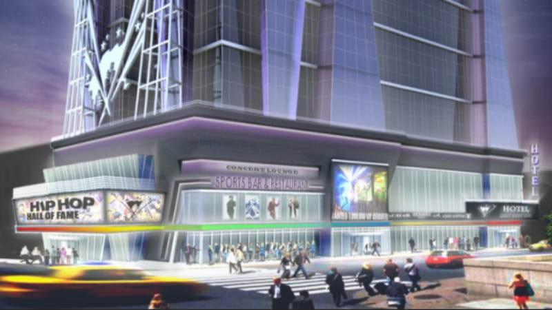 Artist's rendering of the Hip-Hop Hall Of Fame (Image: Hip-Hop Hall Of Fame)