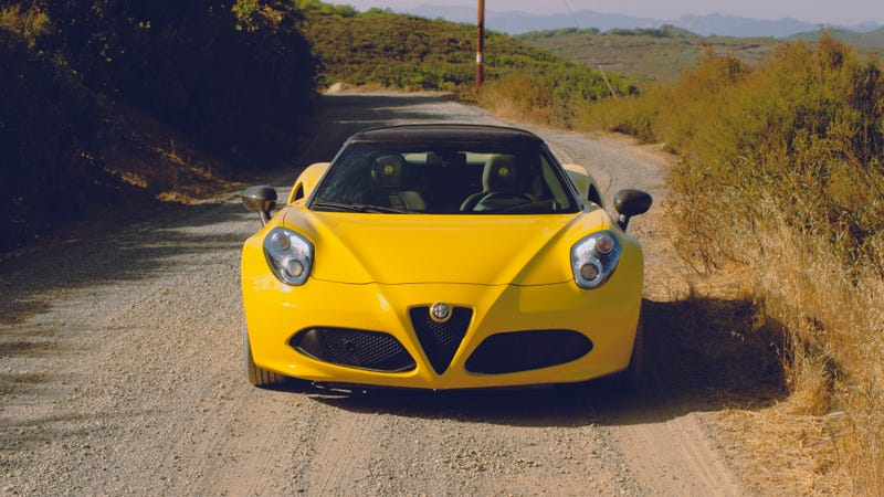 Illustration for article titled How I Ended Up On A Gravel Ridge Road In An Alfa Romeo 4C
