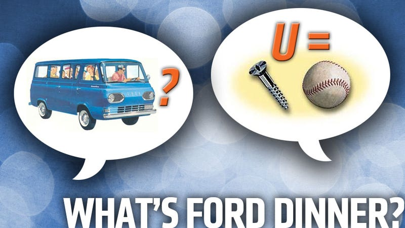 Illustration for article titled My Dinner With Some Ford Engineers