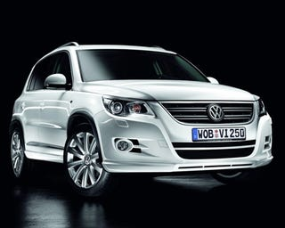 Illustration for article titled Volkswagen Tiguan R Line Revealed