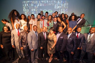 The Root 100 honorees in New York City on Nov. 6, 2014Derrick Davis for The Root