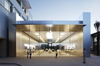 Illustration for article titled Apple Building 100 New Stores With An Updated Design This Year