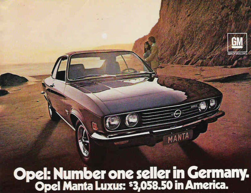 Illustration for article titled Opel's Not-So-Excellent Transatlantic Adventure