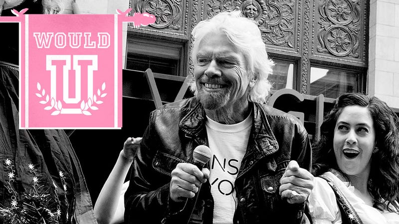 Illustration for article titled Okay Girls: Would You Have Sex With Richard Branson?
